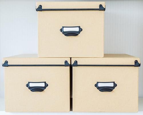 organizational boxes
